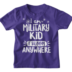 Military Kid Fundraiser Shirt, Youth Size
