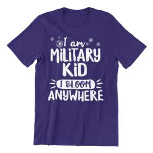 Military Kid Fundraiser Shirt, Adult Size
